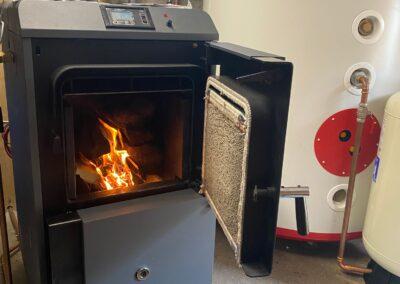 Arikazan 30 Kw log gasification boiler